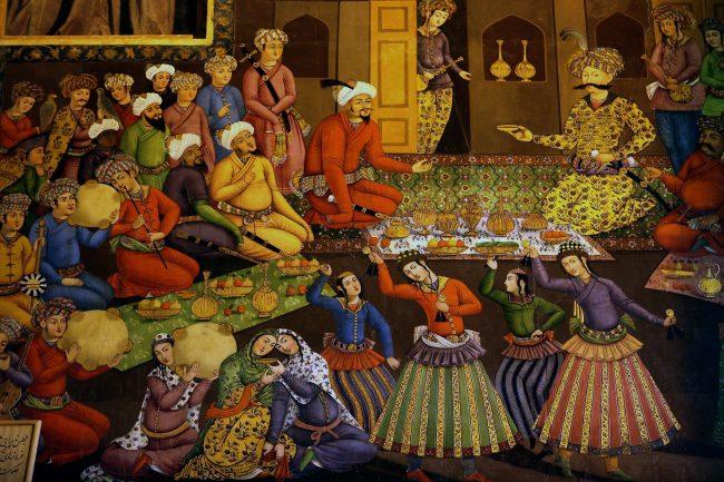 نقاشی پذیرایی شاه عباس
