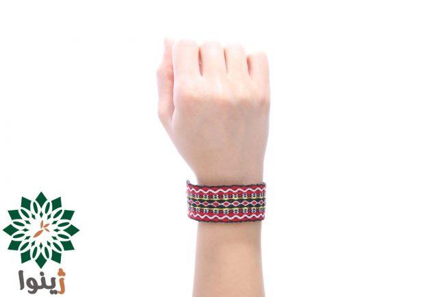 دستبند کارت بافی