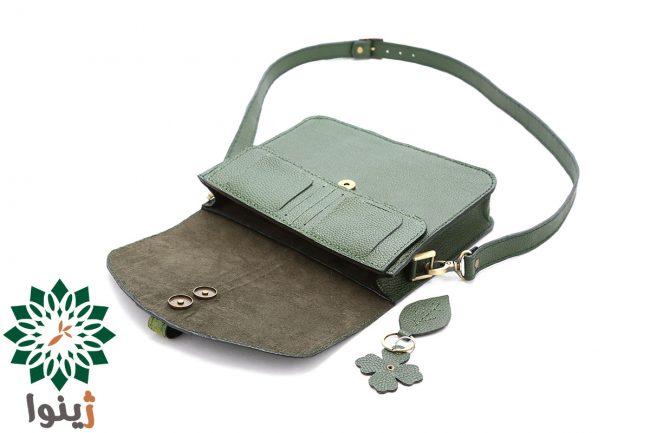 کیف چرم زنانه دست دوز ملسا