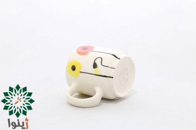 ماگ سرامیکی مدل شقایق