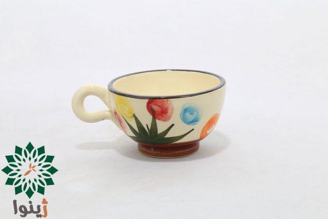 فنجان و نعلبکی سرامیکی